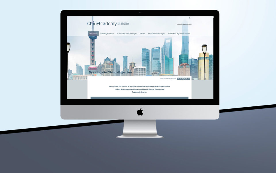 Chinacademy Webprogrammierung