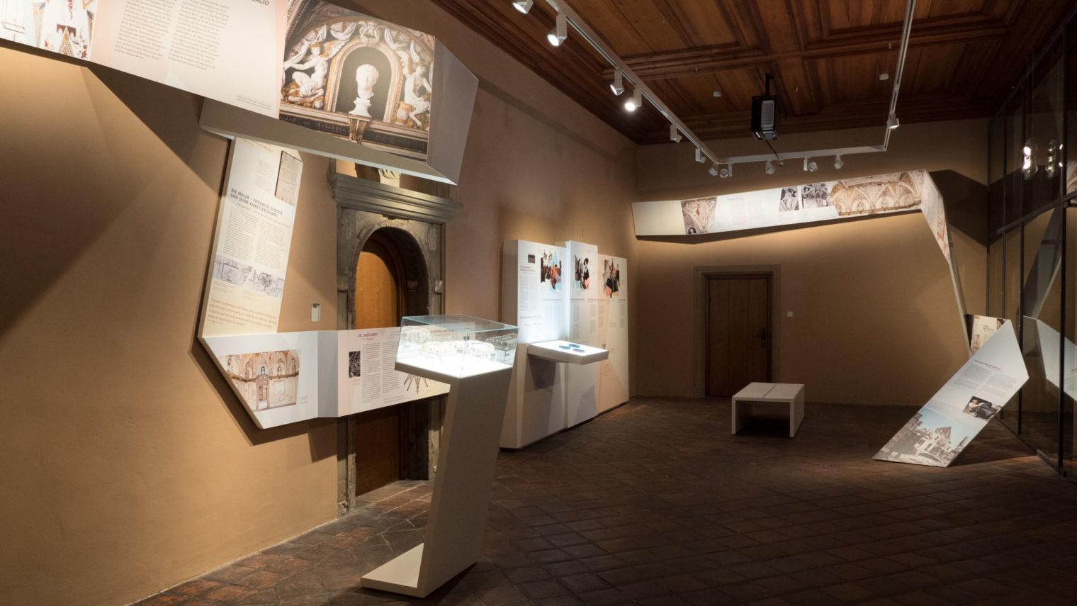 Blick in die Ausstellung 1