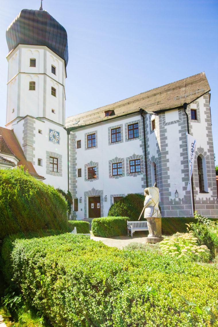 Das Schloss Vöhlin bei Illertissen