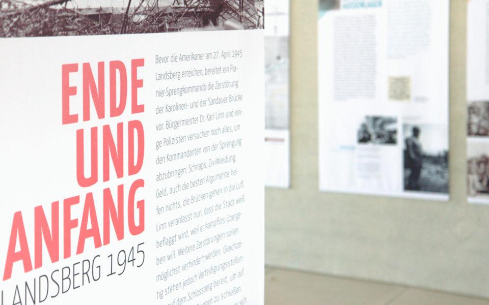 Landsberg Ausstellung Ende und Anfang