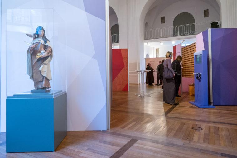 Holzschnitt der Heiligen Teresa von Avila