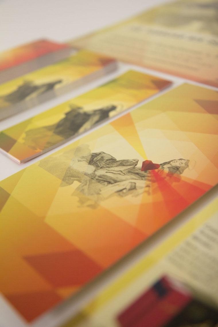 Wanderausstellung Heilige Teresa Printmaterial