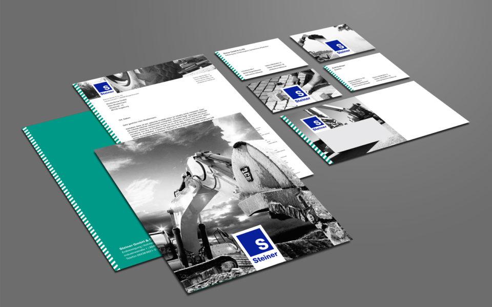 Steiner Geschäftsausstattung Corporate Design
