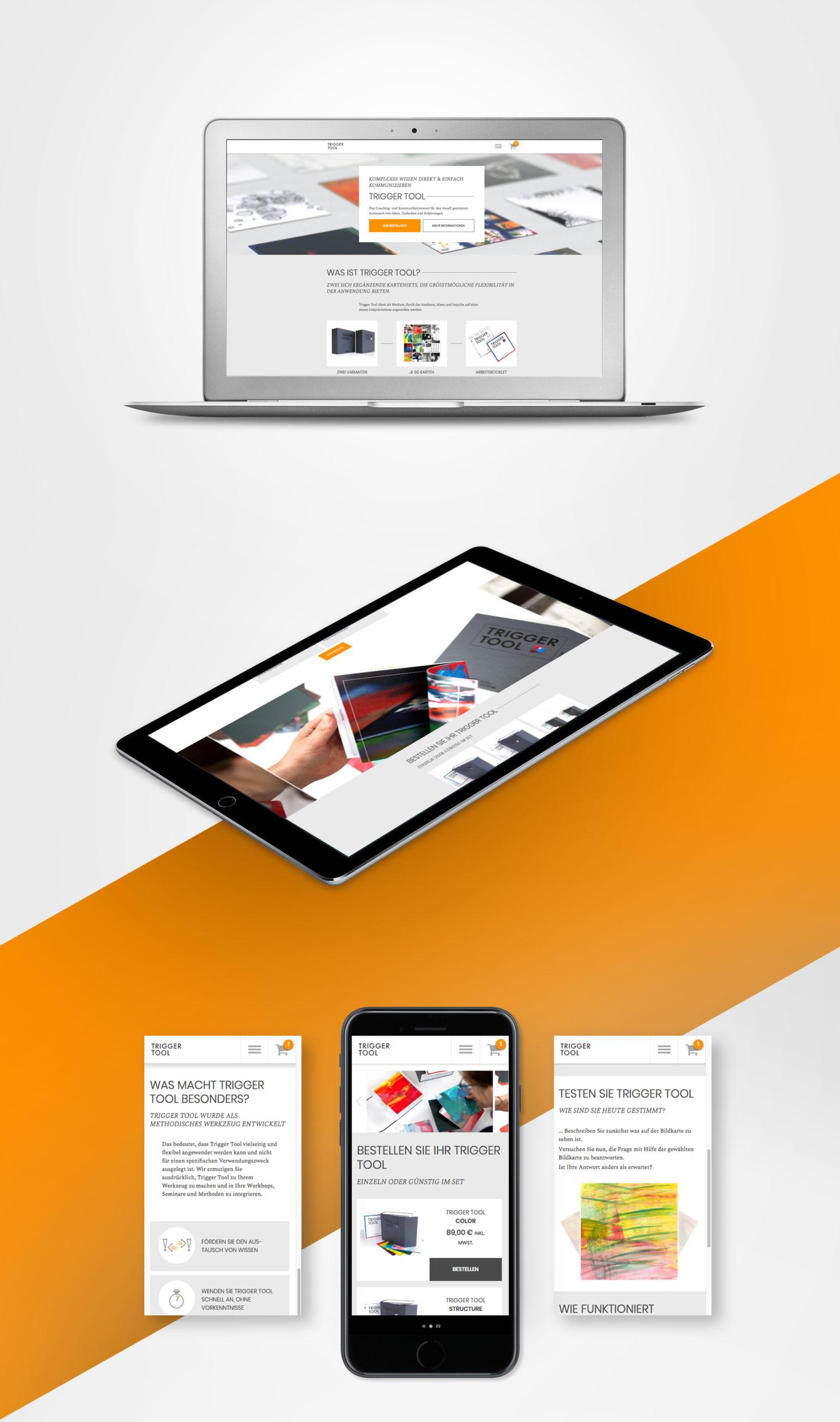 Trigger Tool Webdesign Webprogrammierung
